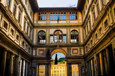 Centro storico Accademia e Uffizi