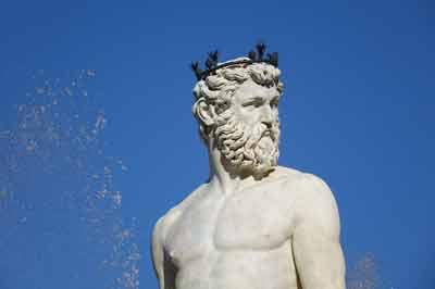 Dettaglio Fontana Nettuno Piazza Signoria Detail of Neptune Foutain