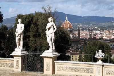 Panorama da giardino Bardini - Bardini Gardens Panorama