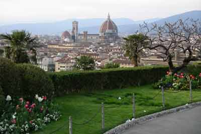 Panorama da Piazzale Michelangelo