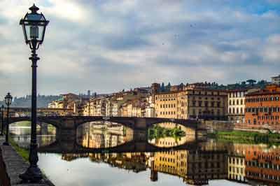 Firenze la mattina presto
