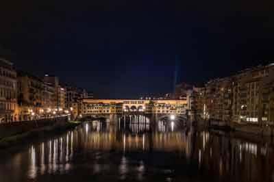 Evening at the Uffizi