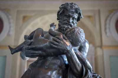 Uffizi Bacco - Uffizi Silenius Young Bacchus