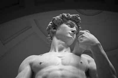 David - Evening in Accademia David