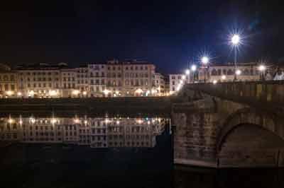 Arno -Evening Florence